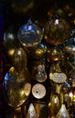 Moroccan lanterns, night view Royalty Free Stock Photo