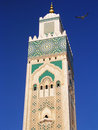 Moroccan minaret Royalty Free Stock Photos