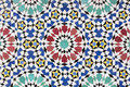 Moroccan mosaic background Royalty Free Stock Photo