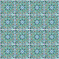 Moroccan mosaic tile, ceramic decoration of mosque, Morocco Royalty Free Stock Photo