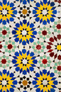 Moroccan mosaic tiles Royalty Free Stock Photo