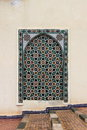 Moroccan mosaic typical in meknes morocco Royalty Free Stock Images