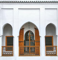 Moroccan riad Stock Photos