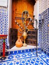 Moroccan shisha typical on the old medina in fes morocco africa Stock Image