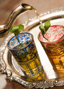 Moroccan Tea cups Stock Image