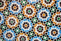 Moroccan tile background colorful pattern Stock Photo