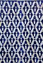 Moroccan Tile Pattern Royalty Free Stock Photo