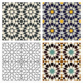 Moroccan Tiles Stock Photography