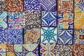 Moroccan tiles pattern Royalty Free Stock Photo