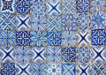 Moroccan vintage tile background colorful Stock Images