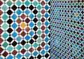 Moroccan vintage tile background colorful Royalty Free Stock Photography