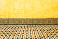 Moroccan vintage tile textured background colorful Royalty Free Stock Image
