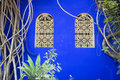 Moroccan windows Royalty Free Stock Images