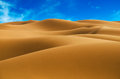 Morocco desert smooth dunes in Stock Photos