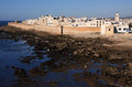 Morocco Essaouira city panorama Royalty Free Stock Images