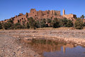 Morocco, Ouarzazate, Tifoultout Kasbah Stock Photo