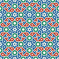 Morocco Seamless Pattern. Traditional Arabic Islamic Background.