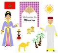 The morocco set