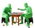 Morph Checkers Royalty Free Stock Photo