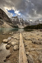 Morraine Lake Alberta Royalty Free Stock Photo