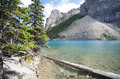 Morraine Lake, Banff National Park Royalty Free Stock Photo