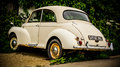 Morris minor old fashioned in need of restoration save me Royalty Free Stock Image