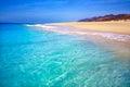 Morro jable matorral beach jandia in fuerteventura pajara of at canary islands Stock Photos