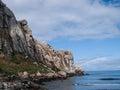 Morro rock bay Royalty Free Stock Photo