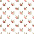 Mortar and pestle pattern seamless