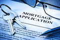 Mortgage Home Loan Application Royalty Free Stock Photo