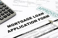 Mortgage loan Stock Photography