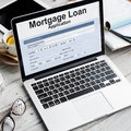 Mortgage Loan Application Form Concept Royalty Free Stock Photo
