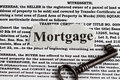 Mortgage word Stock Image