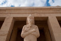 Mortuary temple of queen hatshepsut the egypt Royalty Free Stock Photo