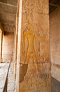 Mortuary temple of queen hatshepsut the egypt Stock Photos