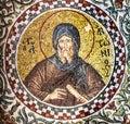 Mosaci of a Byzantine monk