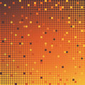 Mosaic background orange Stock Images