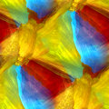 Mosaic blue green red yellow abstract background Royalty Free Stock Photo