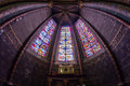 Mosaic in Bourges Cathedral Royalty Free Stock Photo