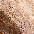 Mosaic in brown tones Royalty Free Stock Image