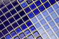 Mosaic ceramic blue tiles Royalty Free Stock Photos