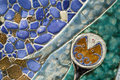 Mosaic Ceramic Royalty Free Stock Photo
