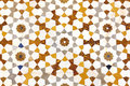 Mosaic detail texture of colored stones in marble Royalty Free Stock Photo