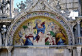 Mosaic detail in Venice Royalty Free Stock Photo