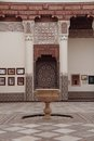 Mosaic Fountain Arab
