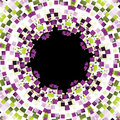 Mosaic frame abstract Royalty Free Stock Photo