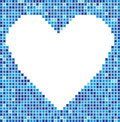 Mosaic heart Royalty Free Stock Photos