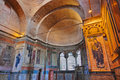 Mosaic interior in Chora church at Istanbul Turkey Stock Photos