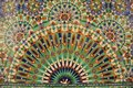 Mosaic an islamic style in the city of casablanca morocco Royalty Free Stock Photography