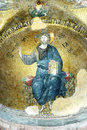Mosaic of Jesus Christ, Fethiye camii Royalty Free Stock Photography